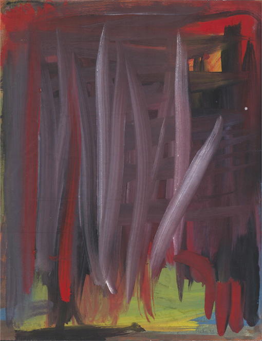 Abstract (HH3), painting, 1988