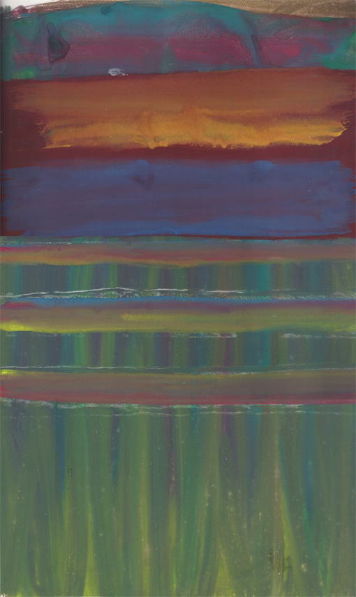 Abstract (HH11), painting, 1988