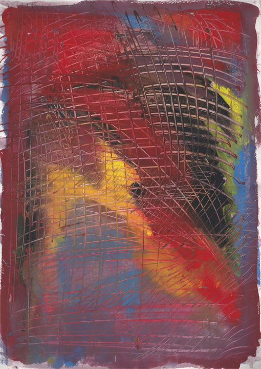 Abstract (HH12), painting, 1988