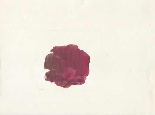 Abstract (Rose - HH15), painting, 1988