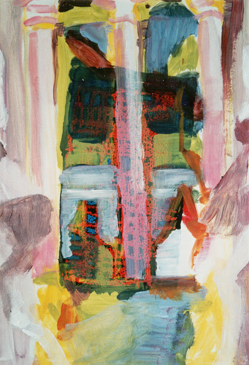 Paint edition 2 (2), Oil on silkscreen, 1992