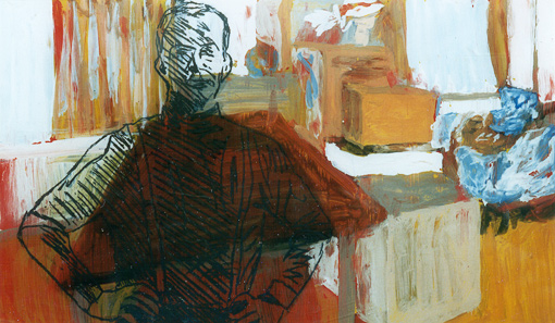 Atelier (12), painting, 1997