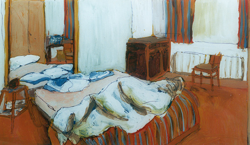 Atelier (13), painting, 1997