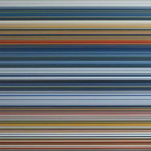 Gerhard Richter Strip 920-1, detail