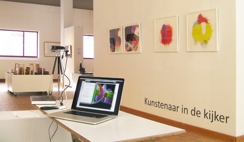 Featured artist at Kunst in Huis